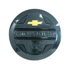 Защита запасного колеса Chevrolet Niva, с эмблемой,кварц