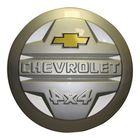 Защита запасного колеса Chevrolet Niva, с эмблемой,снежная королева