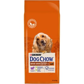 Сухой корм DOG CHOW MATURE для собак старше 5 лет, ягненок, 14 кг