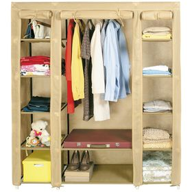 Большой шкаф для одежды складной Montreal