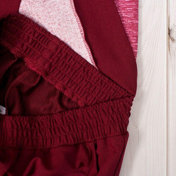 Комплект женский (джемпер, брюки) Стиль-2 цвет марсал, р-р 52