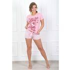 Пижама женская (футболка, шорты) Ассорти-2 цвет ассорти, р-р 42