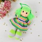Мягкая игрушка «Кукла», в вязаном платье, цвета МИКС - фото 106525224