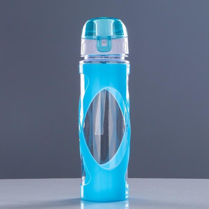 """Бутылка для воды """"Перекрёсток"""" 600 мл, микс, 6.5х24 см"""