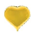 "Balloon foil 18"" heart, MIX color"