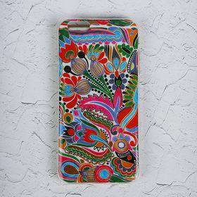 Чехол Luazon для iPhone 6 Plus, орнамент MZF-0139 Ош