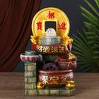 "Фонтан ""Китайская золотая монета"" 40х22х20 см"