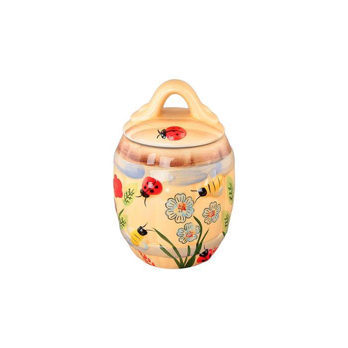 Горшочек для мёда «Божья коровка», объём 550 мл