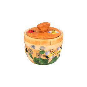 Горшочек для мёда «Пчёлки на лугу», объём 300 мл