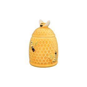 Горшочек для мёда «Пчёлки на сотах», объём 300 мл