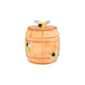 Горшочек для мёда «Бочонок», объём 250 мл