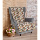 """Накидка на кресло """"Этель"""" Мозаика, 70х160 ± 2 см"""