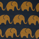 """Покрывало-плед детское """"Этелька"""" Слоники размер 150х215 см, хлопок 100%, цвет синий, 210 г/м² - фото 105560464"""