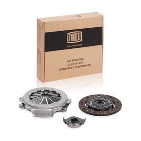 Комплект сцепления в сборе для автомобилей ЗАЗ 1102 Таврия, Sens, Chance 1.3 245.1601180, TRIALLI FR 702
