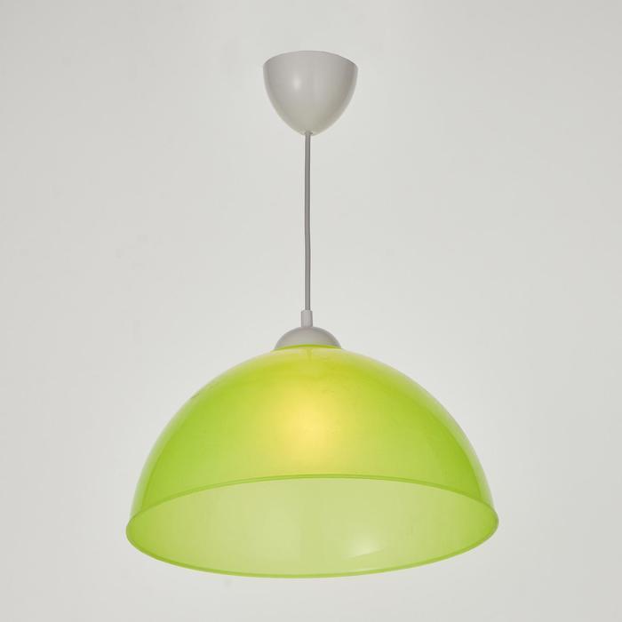 """Chandelier pendant """"Lundy"""" E27 40W light Green"""