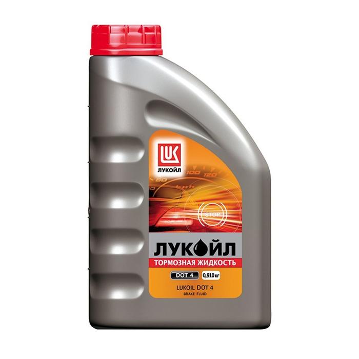 Тормозная жидкость Лукойл ДОТ-4  0,910 кг