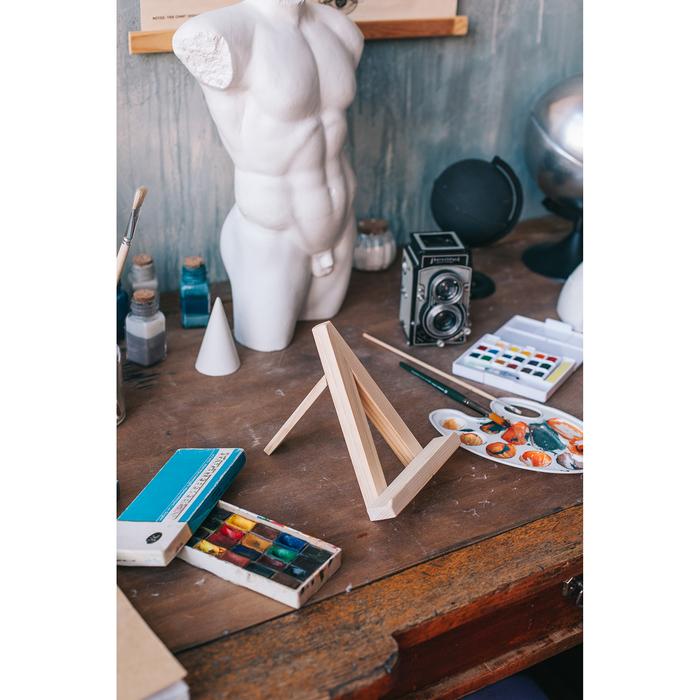 Мольберт демонстрационный настольный «Тренога», 200 x 150 x 160 мм (20 x 20 мм)