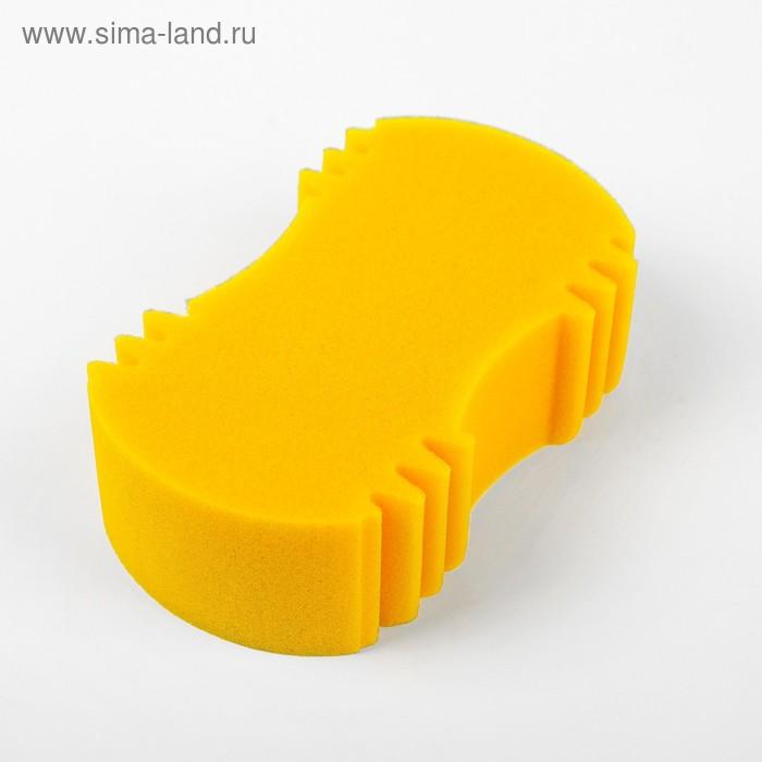 """Губка ZEBRA """"АРАХИС Mini"""", для мойки автомобиля, 19,5 х 12 х 6,5 см"""
