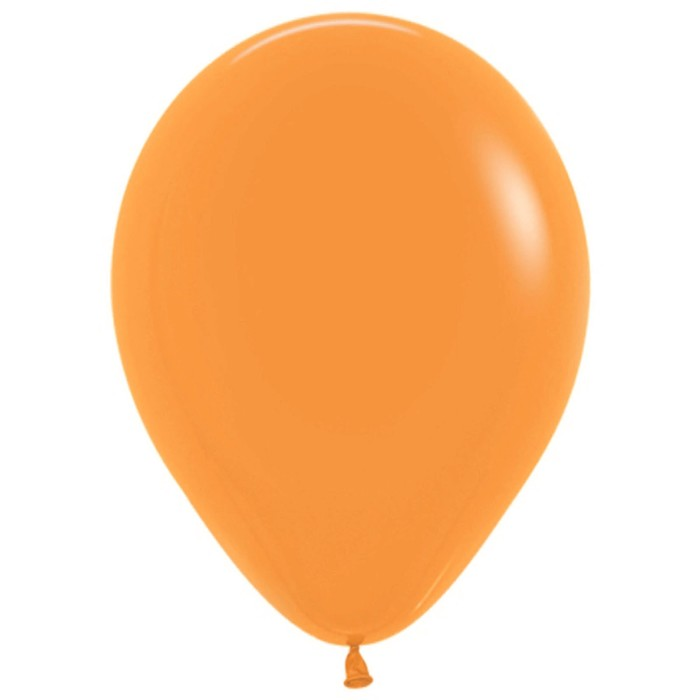 """Шар латексный 7"""", пастель, набор 100 шт., цвет оранжевый"""