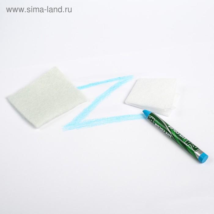 Восковой корректор ZEBRA, с аппликатором, голубой