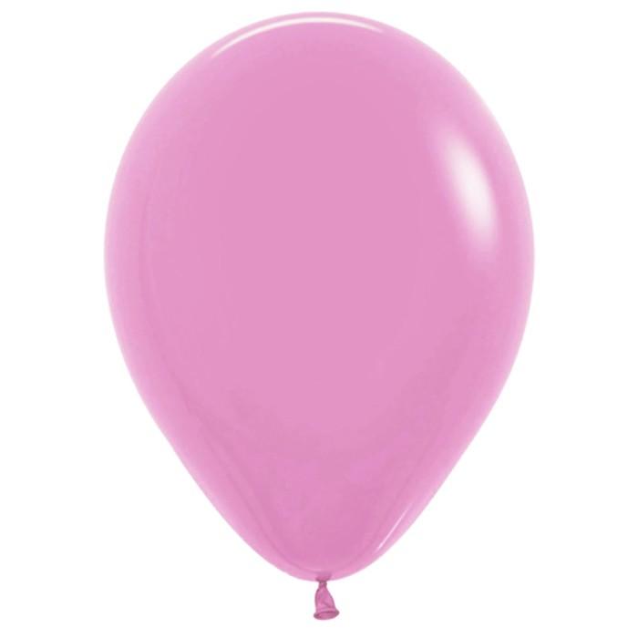 Шар латексный 100 шт. 7 дюймов розовый