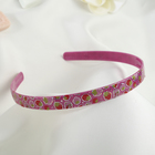 """Hair band """"Spring"""" 1.2 cm berry, mix"""