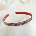 """Hair band """"Spring"""" 1.2 cm flowers mix"""