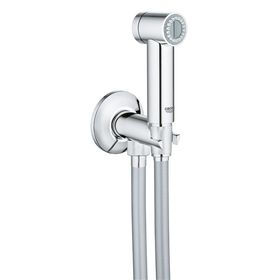 Гигиенический душ GROHE Sena с вентилем, душевой шланг Silverflex 1250 мм