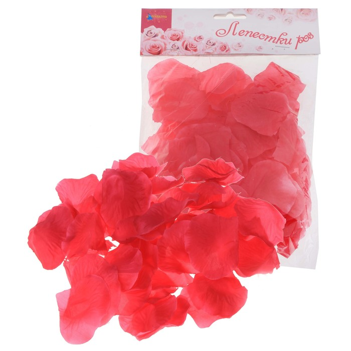 Лепестки роз с запахом, цвет фуксии