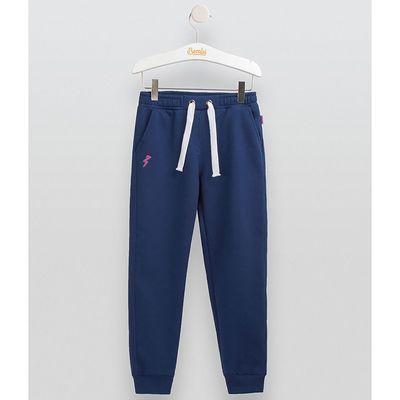 Брюки для девочки, рост 122 см,  цвет синий ШР433
