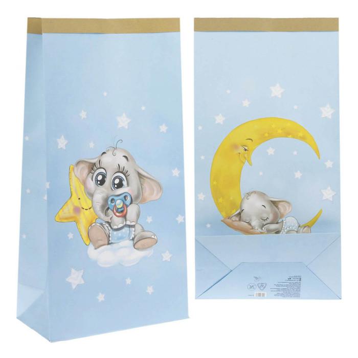 Пакет крафтовый «Любимый малыш», 64 х 32 х 16 см