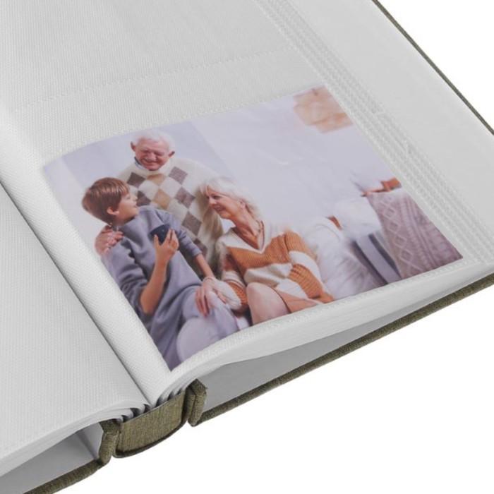 "Фотоальбом на 160 фото 10х15 см ""Любовь. Спокойствие"" текстиль МИКС 25,5х21х5,5 см"