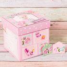 """Памятная коробка для новорожденных """"Сокровища любимой малышки"""""""