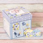 """Памятная коробка для новорожденных """"Сокровища любимого малыша"""""""