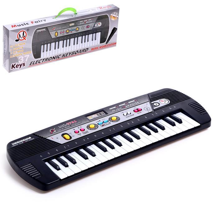 Синтезатор «Импровизация», 37 клавиш, цвет чёрный