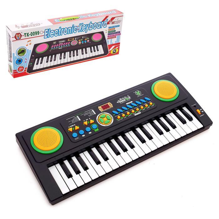 Синтезатор «Любимая музыка» с микрофоном и дисплеем, 37 клавиш
