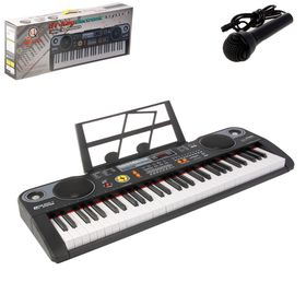 Синтезатор «Мастер» с пюпитром, дисплеем, 61 клавиша