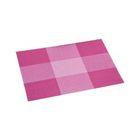 Подставка под горячее 43х29см клетка, розовый