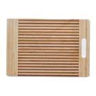 Доска разделочная бамбук 40х30х1,6 см