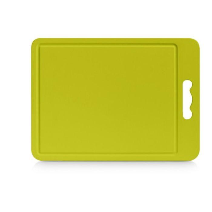 Доска разделочная, пластик, размер 34,5х24х0,4 см, цвет МИКС