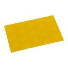 Подставка под горячее 43х29см, желтые кружки