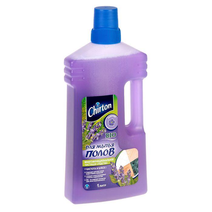 """Средство чистящее для мытья полов Chirton """"Лаванда"""", 1000 мл"""