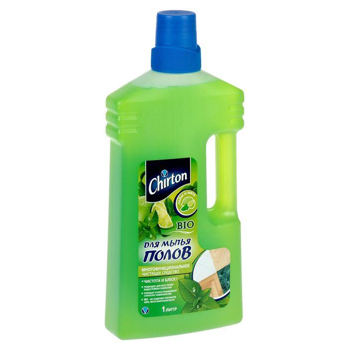 """Средство чистящее для мытья полов Chirton """"Лайм и Мята"""", 1000 мл"""