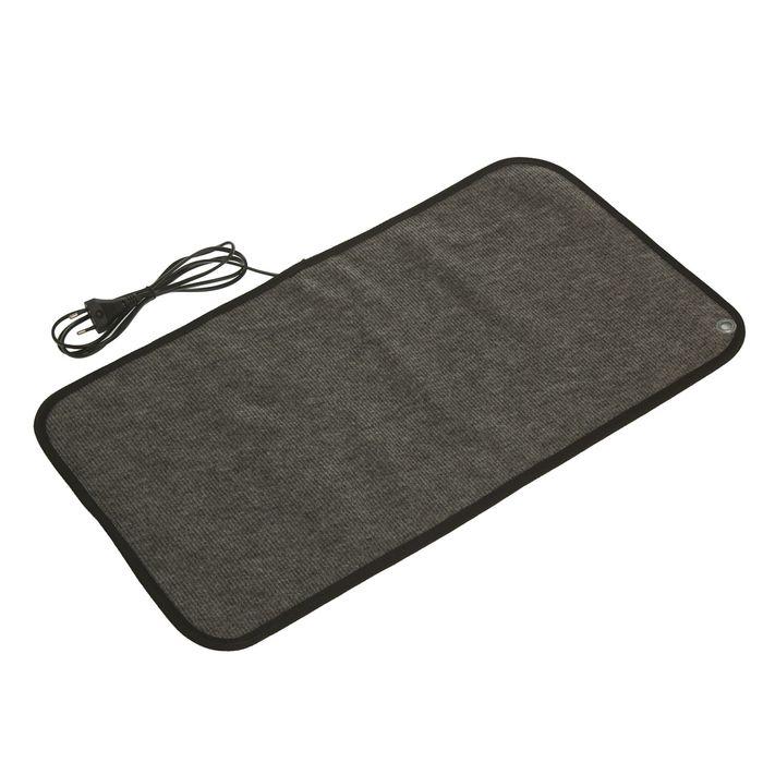 Теплый коврик для сушки обуви ТК-1, 40 Вт, серый