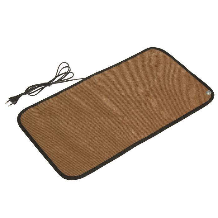 Теплый коврик для сушки обуви ТК-1, 40 Вт, коричневый