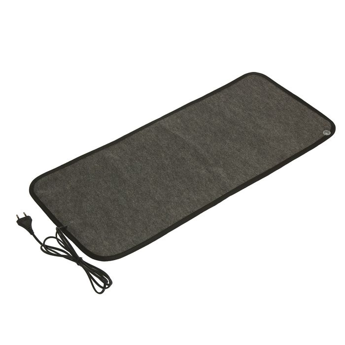 Теплый коврик для сушки обуви ТК-2, 60 Вт, серый