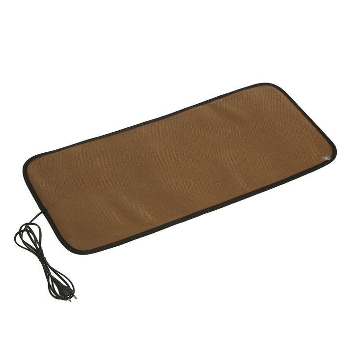 Теплый коврик для сушки обуви ТК-2, 60 Вт, коричневый