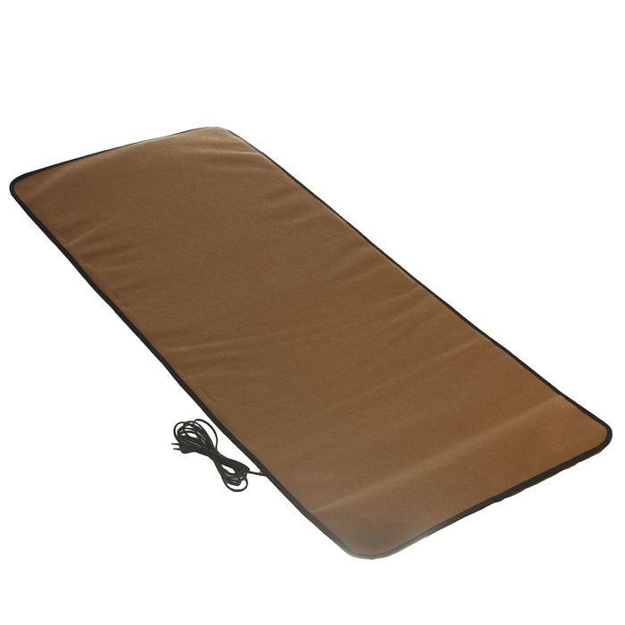 Теплый коврик для сушки обуви ТК-3б коричневый