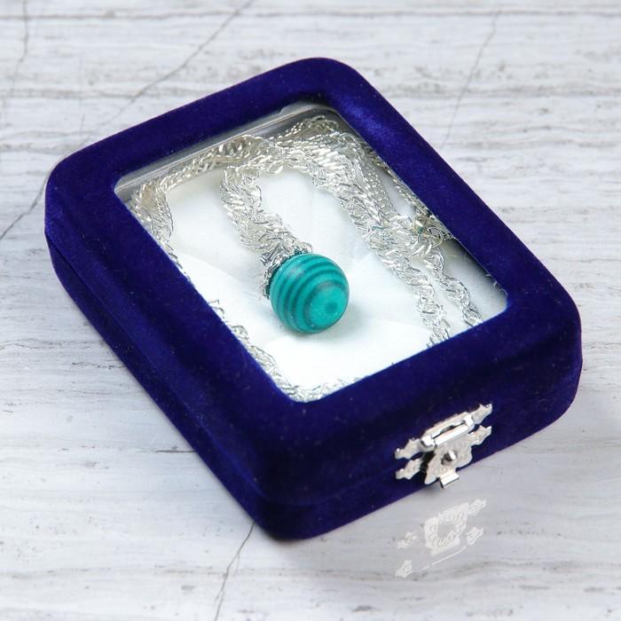 Аромакулон «Камень-самоцвет», в футляре с цепочкой, цвет МИКС