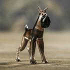 """Сувенир из стекла миди, собака """"Кане-корсо"""", микс, 7 х 2 х 5,5 см"""